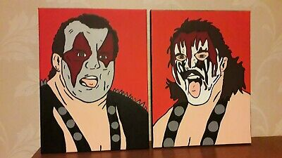 wwe wwf demolition ax and smash canvades