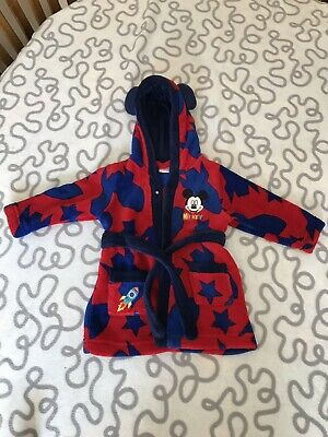 Disney 9-12 Month Mickey Mouse Dressing Gown