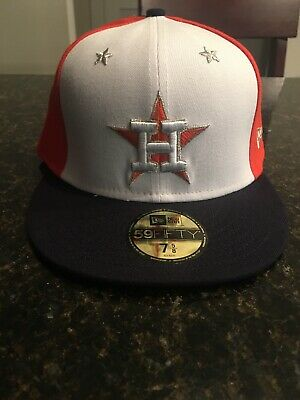new styles a9de1 06a32 Houston Astros New Era 2018 All-Star Game Fitted Hat Cap 59FIFTY MLB Size