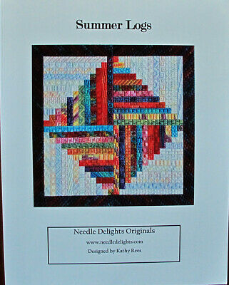 Needle Delights Originals Summer Logs Counted Needlepoint Chart/Pattern