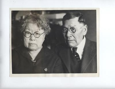 1925 PHOTO CHINESE MARRIAGE Christian Railroad Exclusion act San Franciso - RARE