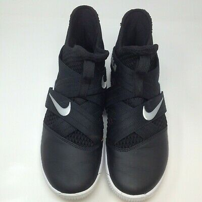 62a08272fbe Nike Lebron Soldier XII Men s Basketball Shoes Size 9.5 White Black AT3872- 001