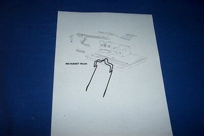 American Flyer #23796 Sawmill part NOS TWO pieces Log Loader HOOK RODS