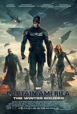 Captain America movie poster (ws5)  - Chris Evans poster - 11 x 17 inches