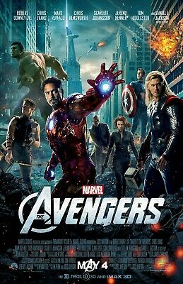The Avengers movie poster (b) : 11 x 17 inches - Avengers poster