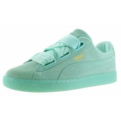 PUMA SUEDE HEART RESET BLUE, Women's Fashion, Women's Shoes