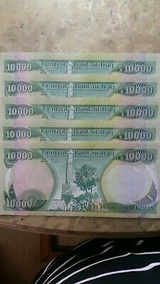 30 10000 New Iraqi Dinar Notes Uncirculated Very good condition = 300,000 Dinar