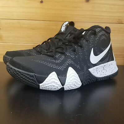 02399a7f7d5 NIKE KYRIE 4 TB Men s Basketball Shoes AV2296-001 Black White Size ...
