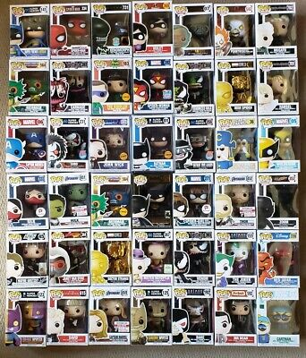 Pick 1-42 Funko Pop! Random Box Exclusives, Chases Marvel TV Vinyl Bobble Head