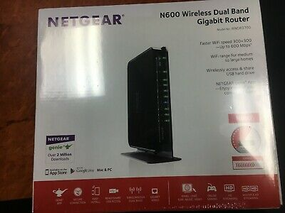 NETGEAR N600 Wireless Dual Band Gigabit Router WNDR3700V4