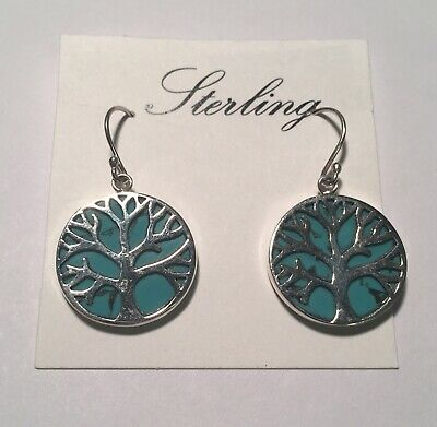 Moonstone 925 Sterling Silver Earrings Jewelry Ae50147 97n Fine Jewelry Jewelry & Watches Tree Of Life