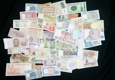 World Banknotes - Bulk Lot of 50 World Banknote Assortment of Notes  Set # 27