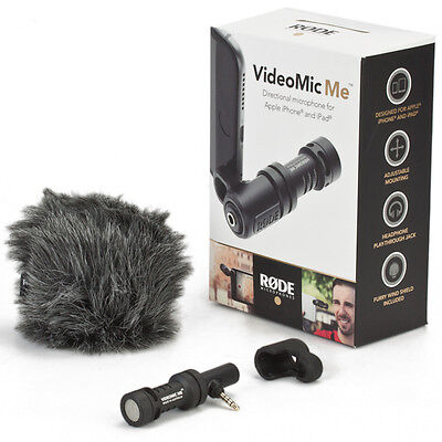 Rode VideoMic Me Mini Microphone Directional Compact for IOS Android Smartphone