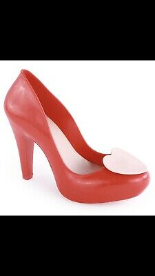 Red Mel By Melissa Size 9/40 Heels