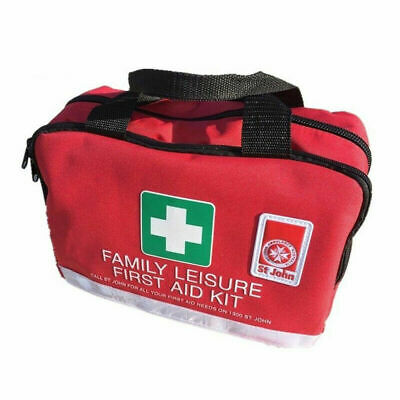 St John Ambulance Family Medium First Aid Kit Home Office Workplace Car Safety