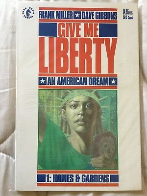 Give Me Liberty 1 1990 Graphic Novel Frank Miller Dave Gibbons VFN