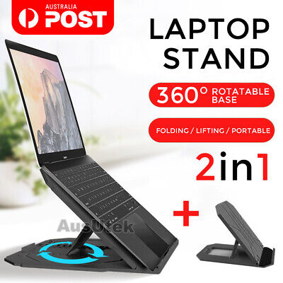 Laptop Stand Portable iPad Holder Folding Adjustable Notebook Cooling Ergonomic