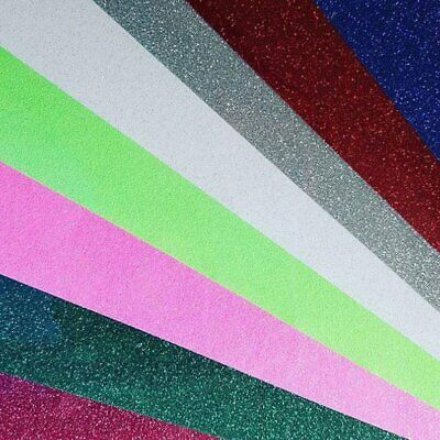 10 Sheets | Siser Glitter HTV | 40 Glitter colors | Heat Transfer Vinyl |