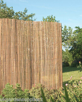 16m x 1.5m Bamboo Slat Screening / Screen/ Fence / Panel / Privacy Fencing