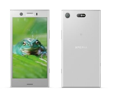 Sony XPERIA XZ1 Compact in Silber Handy Dummy Attrappe - Requisit, Deko, Muster