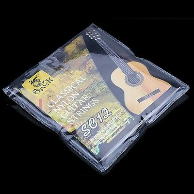6PCS/SET Qual Nylon Strings Style Classical Six Guitar Strings Clear Tension