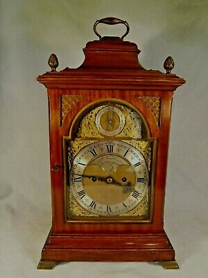 19c Mahogany Twin Fusee Bracket Clock.