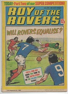 Roy of the Rovers (Vintage Comic) 12th April 1980