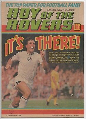 Roy of the Rovers (Vintage Comic) 17th April 1982