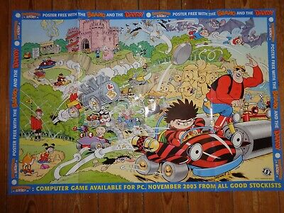 The Beano - Beano Town Racing - Poster - Large Wall Poster