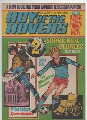 Roy of the Rovers (Vintage Comic) 28th August 1982