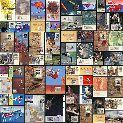 Australia Prepaid Airmail Postcards 60 Designs! Maxi Cards Postcrossing Stamps 1