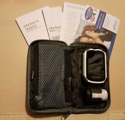 OneTouch Verio Blood Glucose Diabetic Meter/Monitor/System **BRAND NEW**