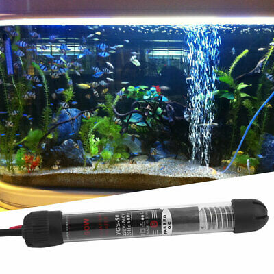Professional Submersible Heater Heating Rod for Aquarium Glass Fish Tank R6