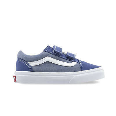 Vans Kids Old Skool V Shoes - Chambray (5+ yrs)