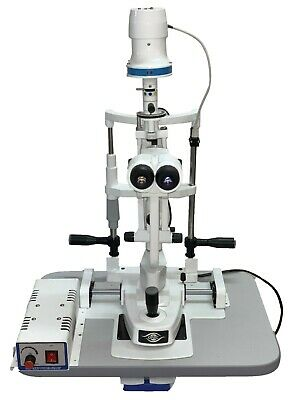 Slit lamp Biomicroscope 3 Step Magnification With Aluminium Base ISO CE