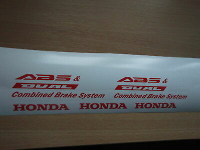 HONDA VFR DUAL ABS  Replacement decals sticker graphics SET. 12 YEAR VINYL