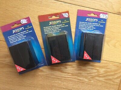 Jessops Glassless Slide Frames 3 Packs Of 40 (e3)