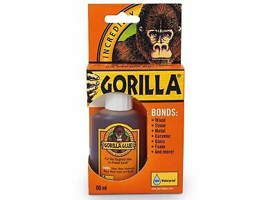 GORILLA GLUE ORIGINAL 60ML 🦍 Incredibly Strong Industry Trusted Tough Adhesive