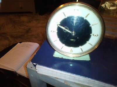 Antique Vintage Smiths Wind Up Clock 1950/60s Era