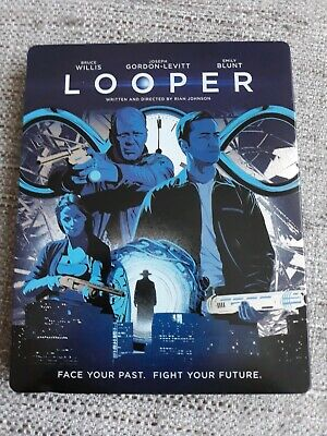 Looper Blu Ray Steelbook - Bruce Willis