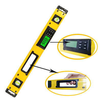 Digital Protractor Angle Finder with LCD Backlight Level 600mm Angle Aluminum