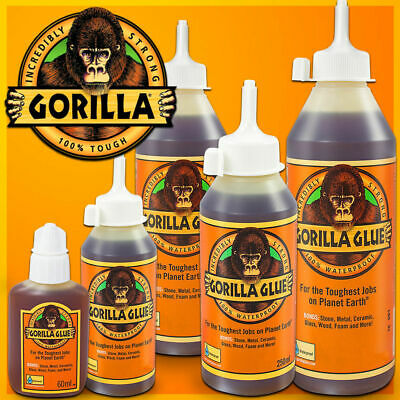 GORILLA GLUE ORIGINAL 🦍 Incredibly Strong 🦍 Industry Trusted 🦍 Tough Adhesive