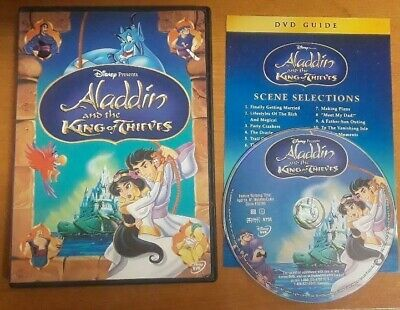 Aladdin and the King of Thieves DVD ~ Disney Authentic US Issue ~ No scratches