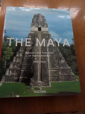 The Maya: Palaces and Pyramids of the Rain Forest by Henri Stierlin - h/back (D)