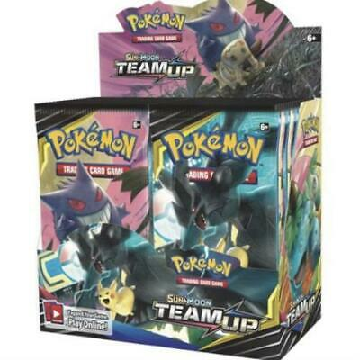 Pokemon Team Up Sun & Moon TCG Booster Box (36 Packs) - Factory Sealed