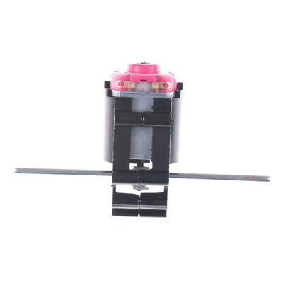 Double Shaft Bevel Angle Gear Motor Suit Worm Reducer 3-6V DIY Parts* YL