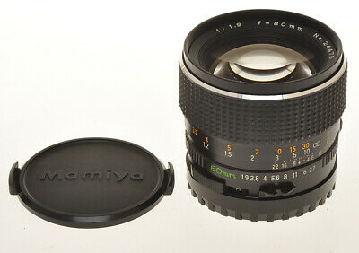 Mamiya fast standard lens 80/1.9 80mm F:1.9 Sekor C for 645 cameras, exc++++