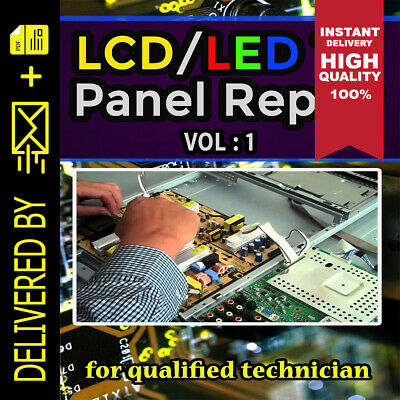 LCD/LED TV Panel Repair B00k pdf Part 1 E-mail Fast Delivery 🔥