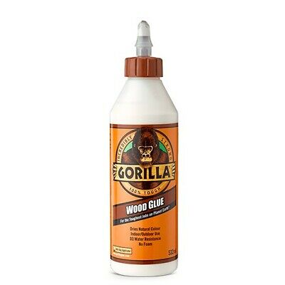 GORILLA WOOD GLUE 532ML 🦍 Hard-Working Water-Resistant 🦍 Industry Trusted Glue