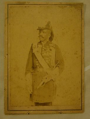 African American  KNIGHTS of PYTHIAS cabinet card 1890s exceedingly RARE